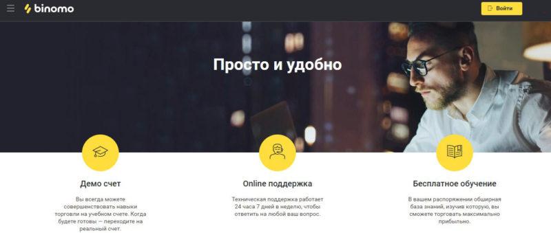 биномо официальный сайт